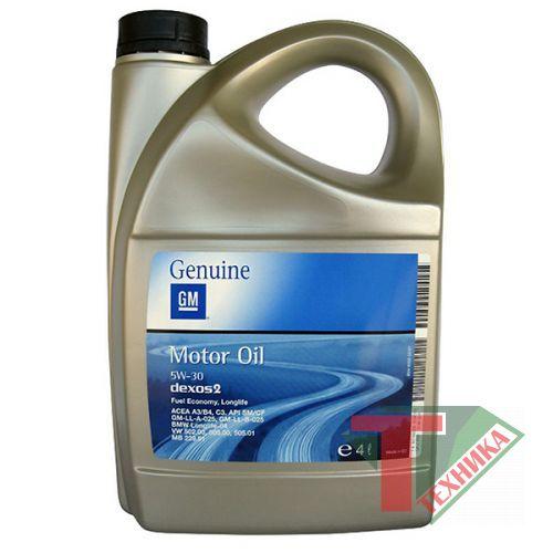 GM Motor Oil Dexos2 5W30 5L