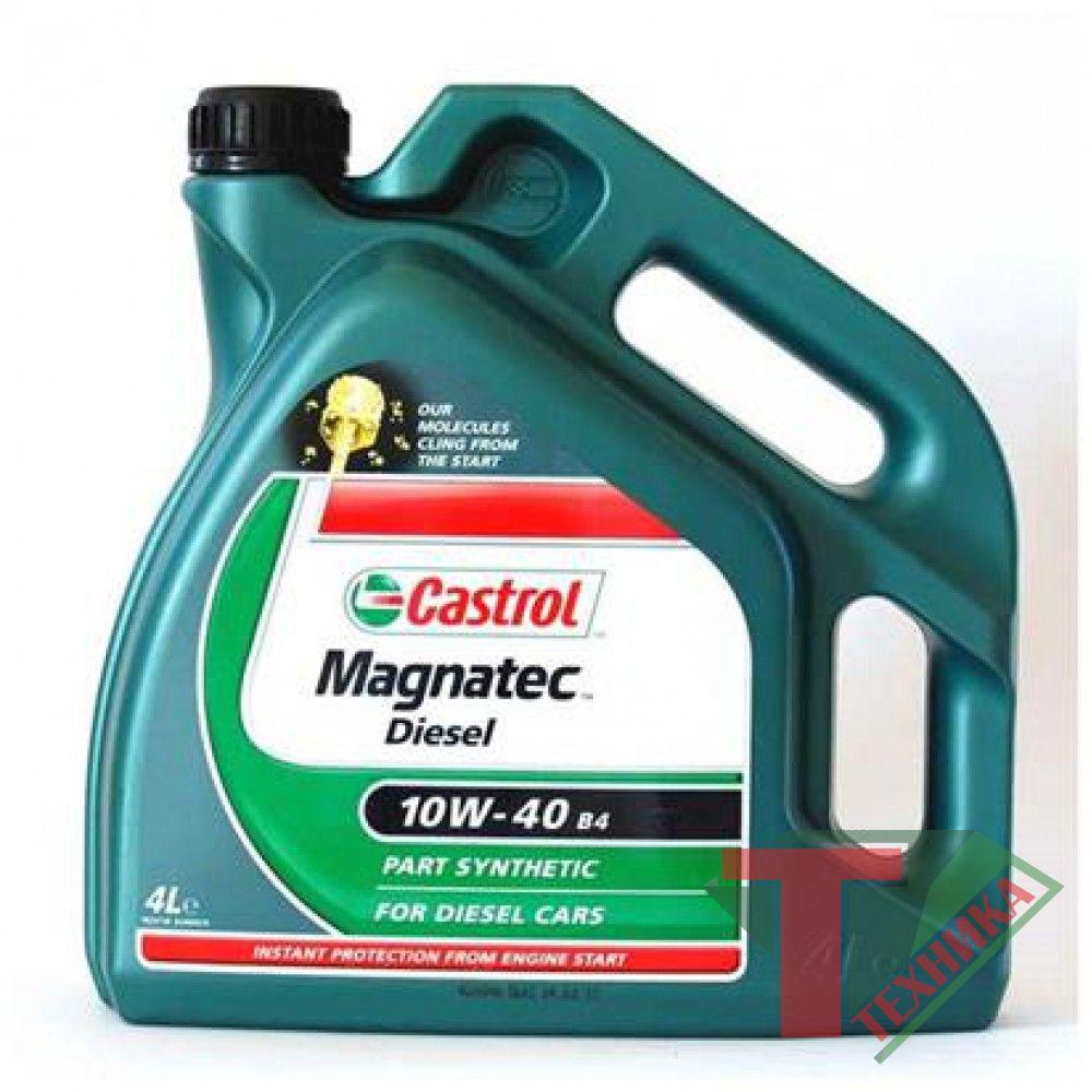 Castrol  Magnatec 10w40 4L Diesel