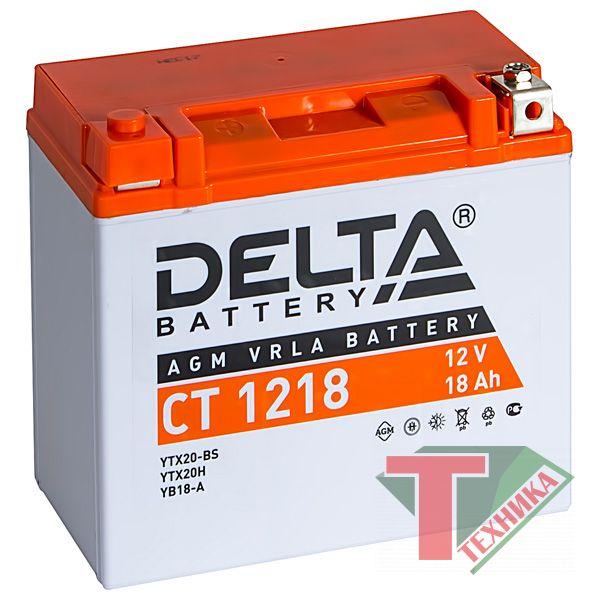 Акб Delta CT1218