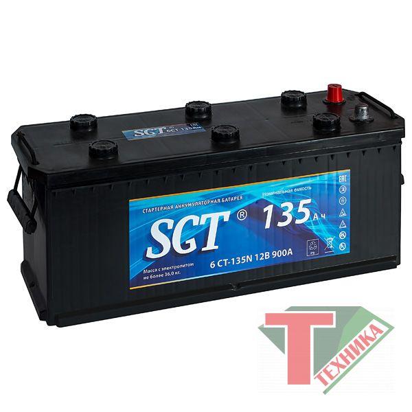 АКБ SGT - 135 +R