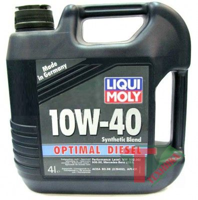 Liqui Moly Optimal Diesel 10W40 CF; B3 4л