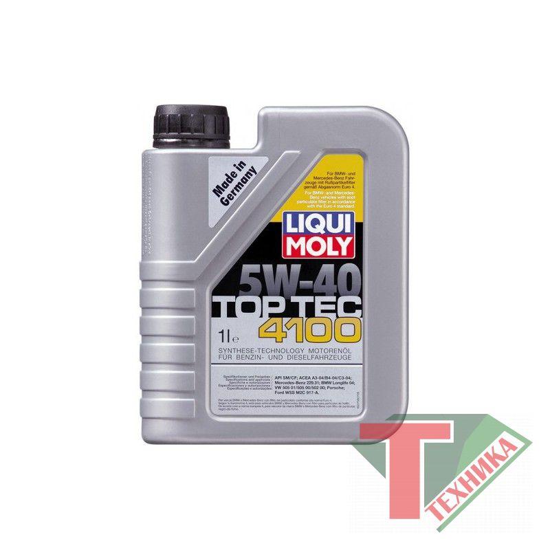 Liqui Moly Top Tec 4100 5W40 SN/CF; A3/B4/C3 1л