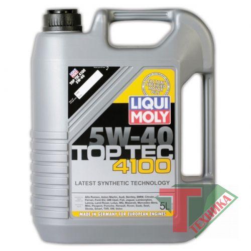 Liqui Moly Top Tec 4100 5W40 SN/CF; A3/B4/C3 5л