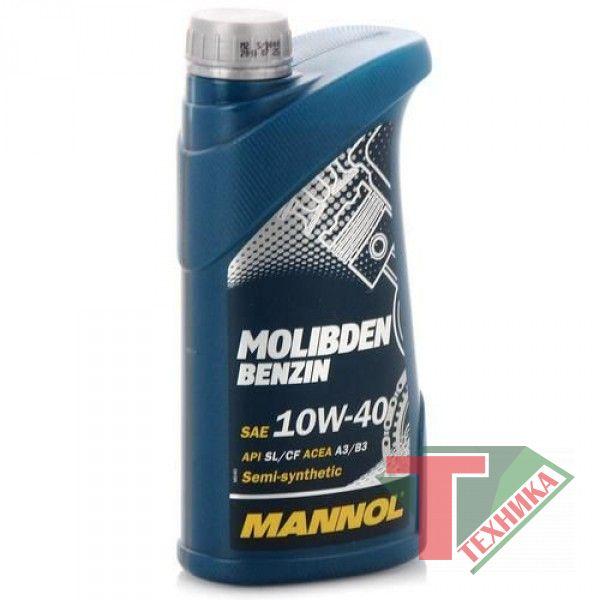 Mannol Molibden benzin 10W40 1L