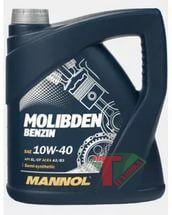 Mannol Molibden benzin 10W40 4L