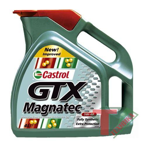 Castrol GTX Magnatec 5w40 4L