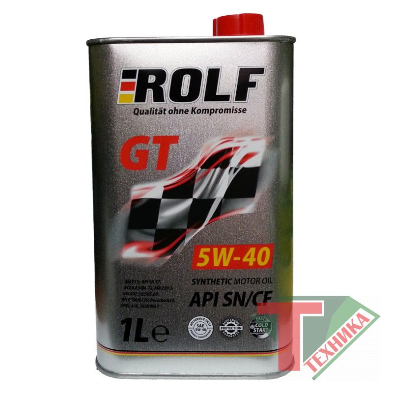 Rolf GT 5W40  1л