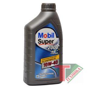Mobil Super 2000 X1 10W40 Diesel 1L