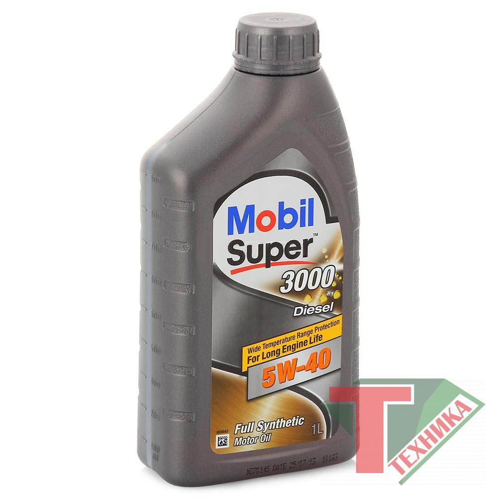 Mobil Super 3000 X1 5W40 1L Diesel