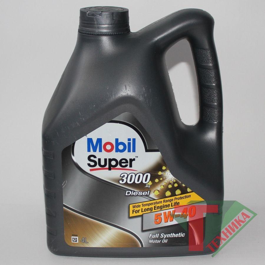Mobil Super 3000 X1 5W40 4L Diesel