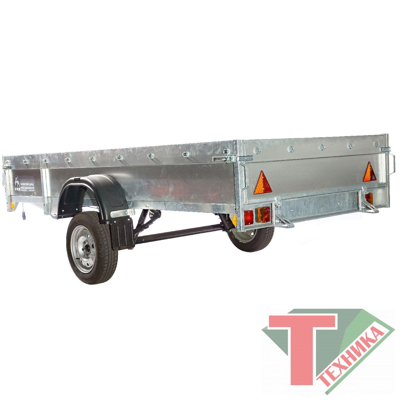 Прицеп 82993-2  бортовой для перевозки снегоходов и квадроциклов ( без дуг и тента)
