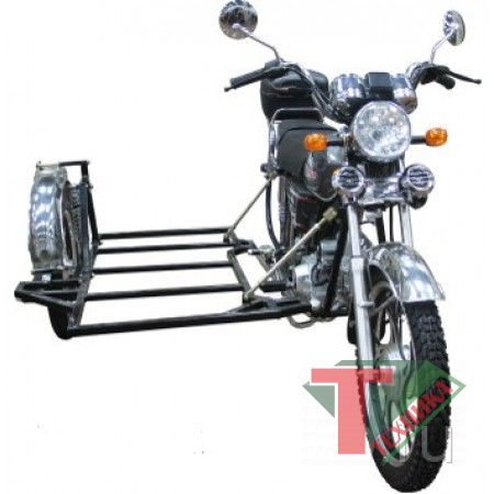 Прицеп боковой на мотоцикл Alpha WJ50