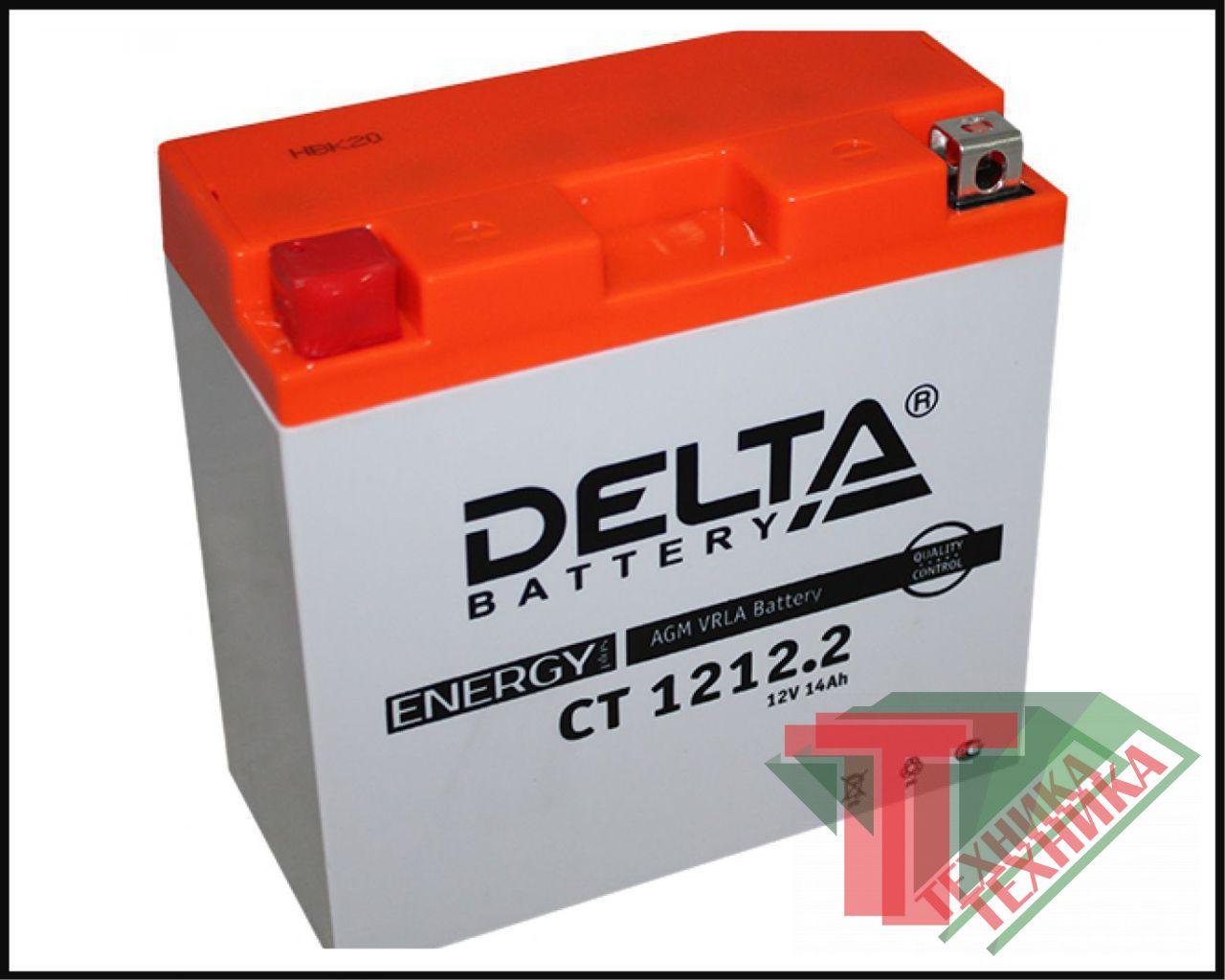 Акб Delta CT1212.2
