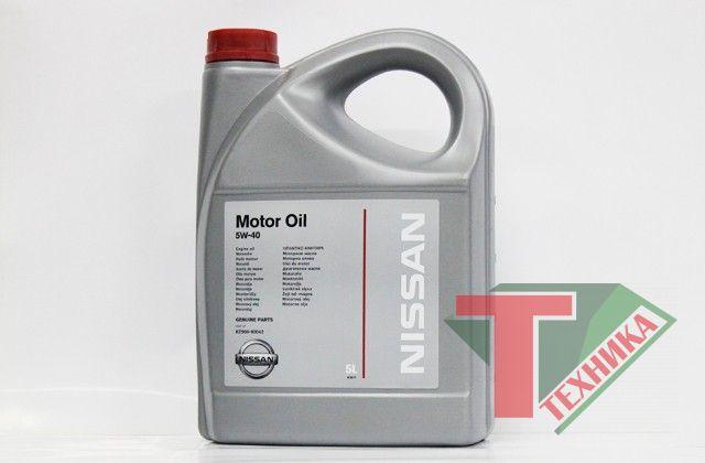 Nissan SM/CF 5W40 5L