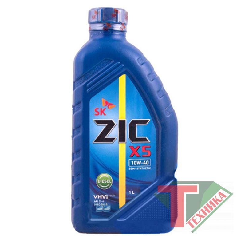 ZIC A Х5 Diesel 10W40 1L