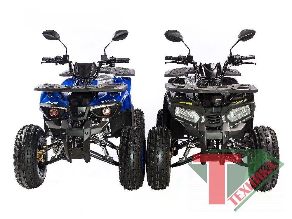 Квадроцикл ATV 125cc круглая фара
