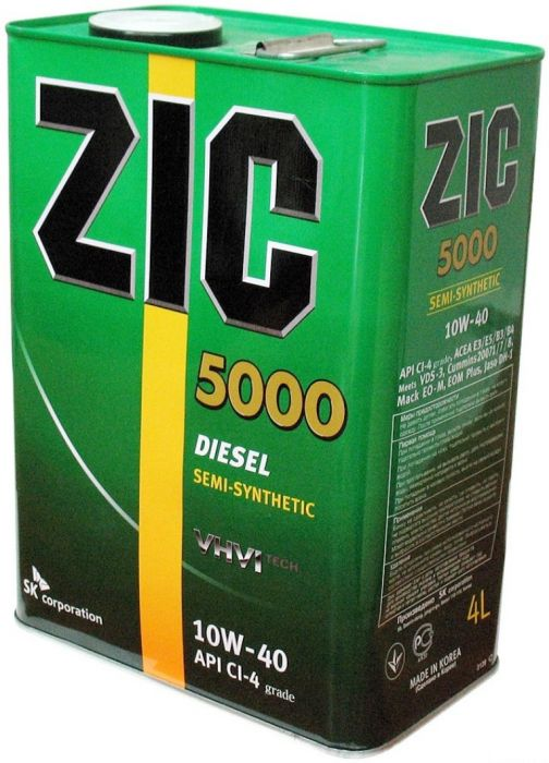 ZIC 5000 10W40 4L