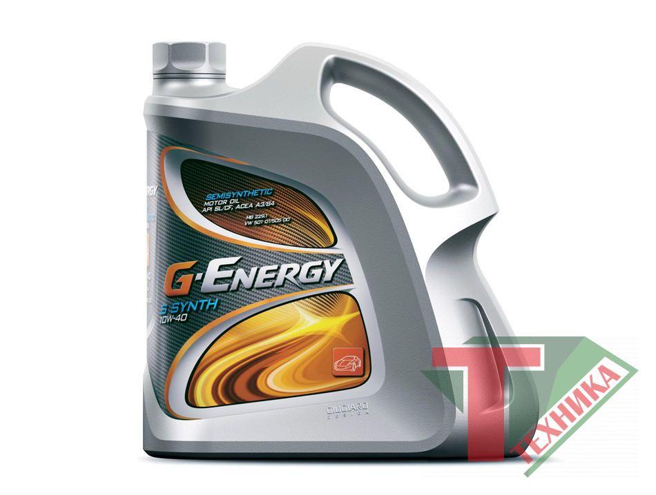 G-Energy S Synth 10W40 SL/CF 4л