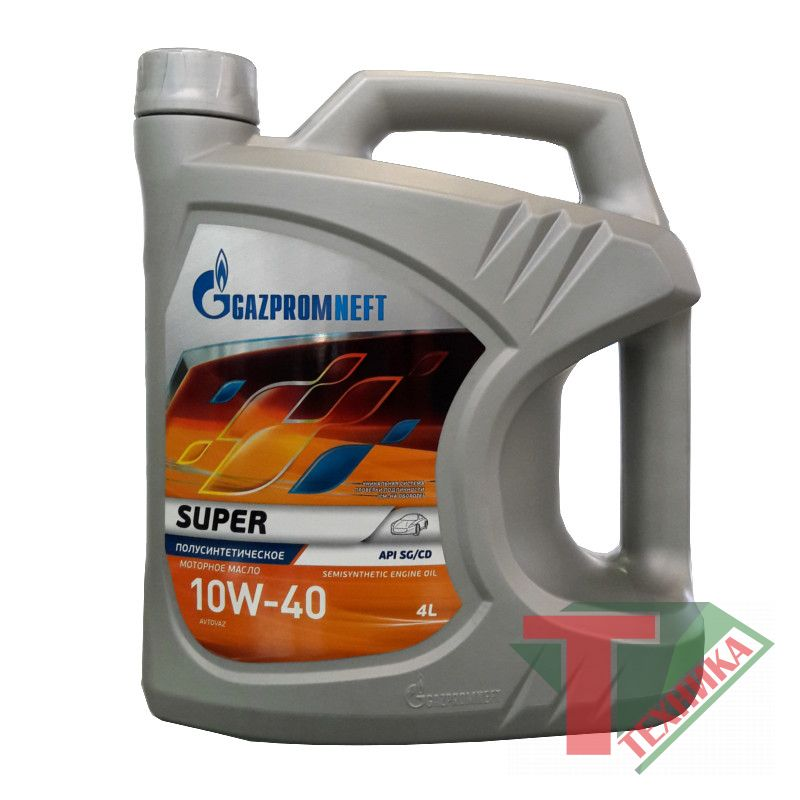 Gazpomneft Super 10w40 SG/CD 4л