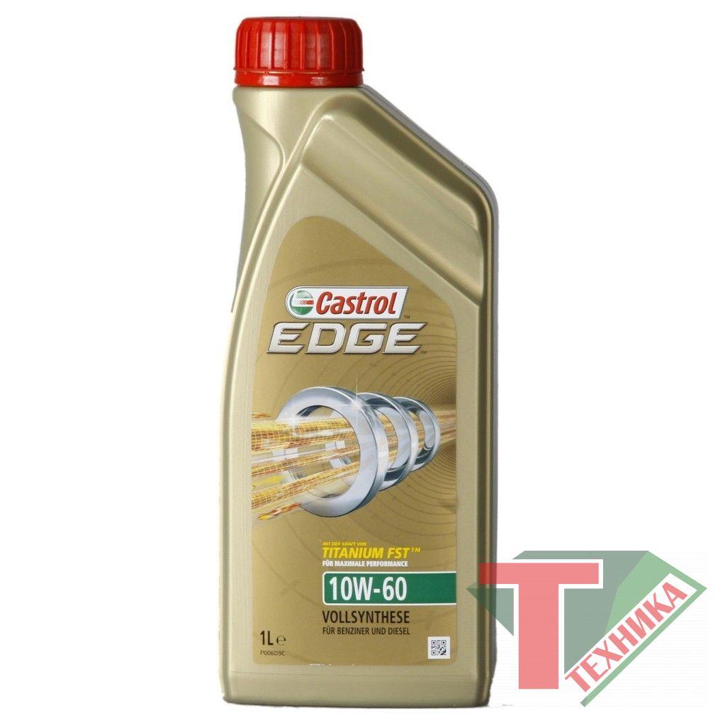 Castrol EDGE Titanium10W60 4L