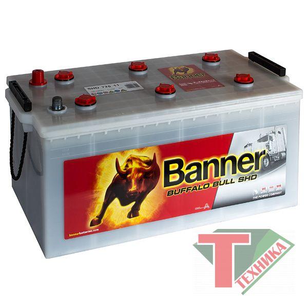 АКБ Banner Buffalo Bull SHD 725 11
