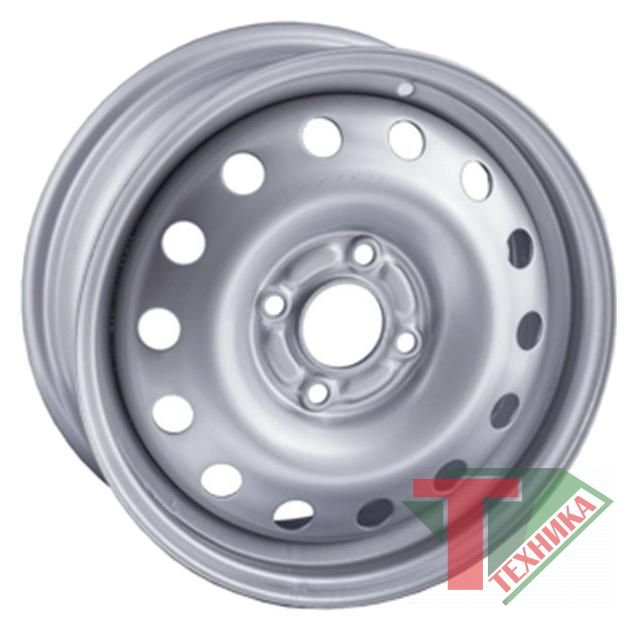 Диск 6,0-16 4/100 50 60,1 TREBL Silver  X40033