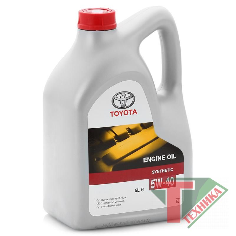 Toyota Engine Oil SL/CF 5W40 5L