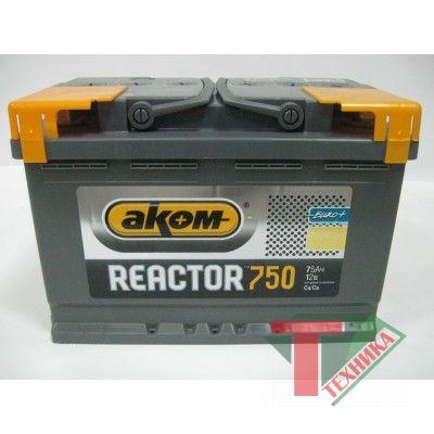 АКБ Reactor 75 EN750
