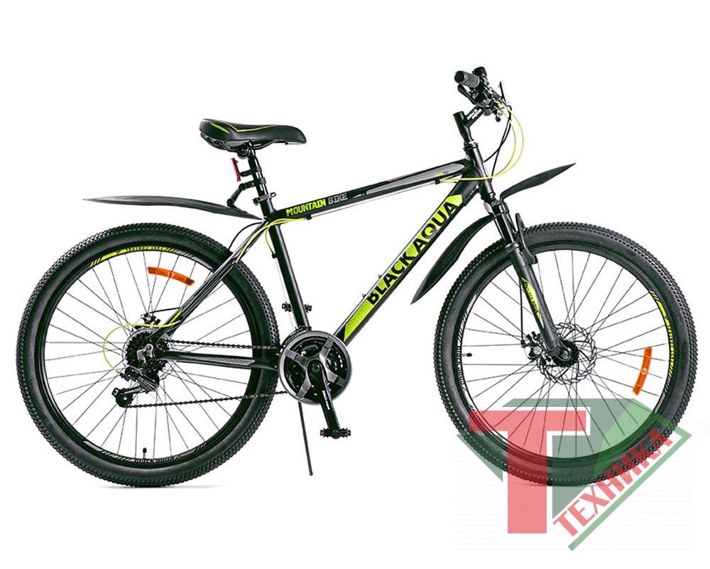 Велосипед GL-318D Black aqua Cross 2651D matt26