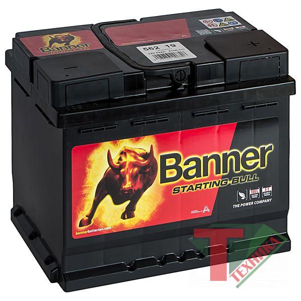 АКБ Banner Buffalo Starting Bull 562 19