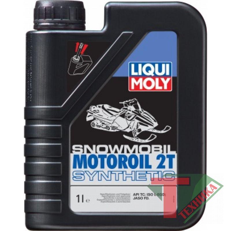 Liqui Moly Snowmobil Motoroil 2T 4л