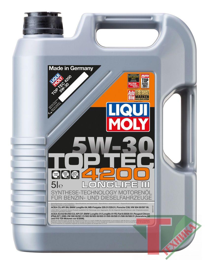 Liqui Moly Top Tec 4200 5W30 A3/B4/C3 4л